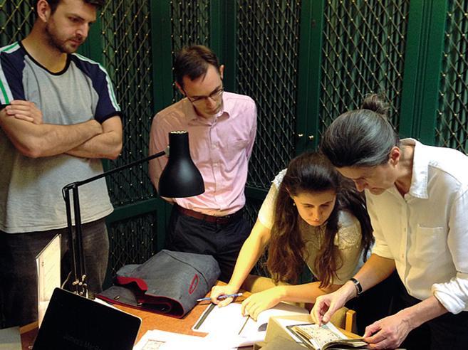 Cristina e i ragazzi di Oxford: «Noi, cacciatori di libri antichi»