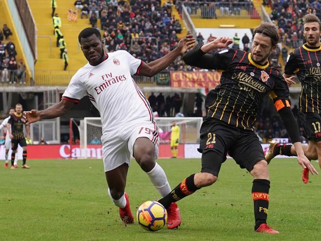 Benevento-Milan 2-2, pagelle rossonere: Kessie in palla, Bonaventura non è ancora Jack