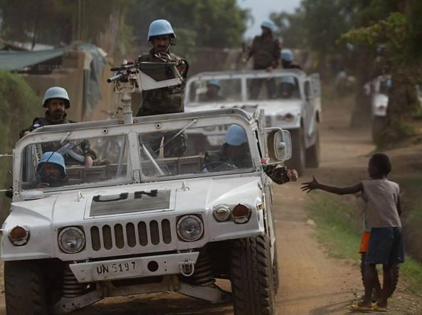 Congo: 14 caschi blu ONU uccisi e 40 feriti