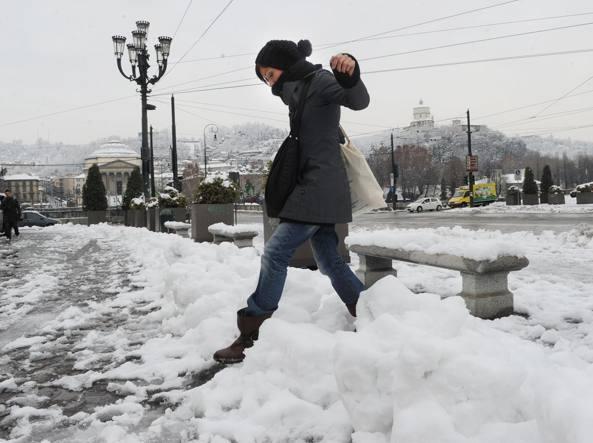 In arrivo il grande freddo, pioggia, vento e neve anche in pianura