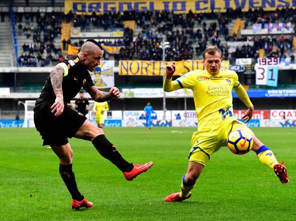 Chievo Verona-Roma 0-0, Sorrentino show nega il successo ai giallorossi