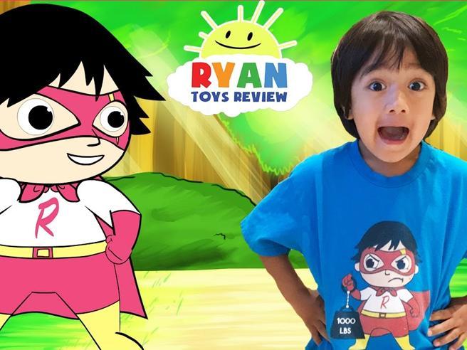 Ryan, il bimbo di 6 anni diventato milionario con i video su YouTube in cui prova i suoi giocattoli