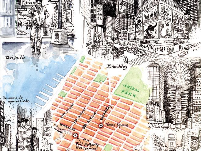 Luci, sogni, viscere: Times Square, la piazza dove le tre New York si intrecciano