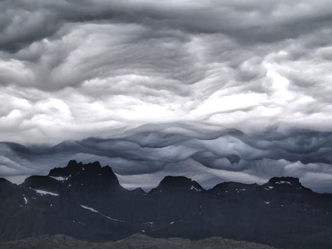 Ecco le «nuove» nuvole, sono le Asperitas