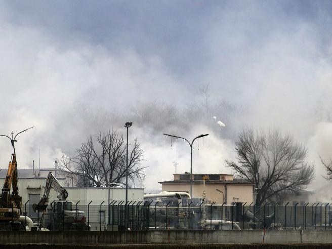 Austria, esplosione in un impianto di gas  Interrotto flusso Russia Italia Foto|Video
