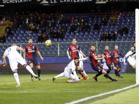 Genoa-Atalanta 1-2: vince l'ex Gasperini, Masiello regala i tre punti alla Dea