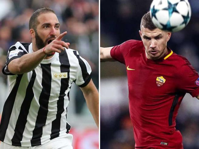 Euro dribbling Champions  riuscito per Juventus e Roma