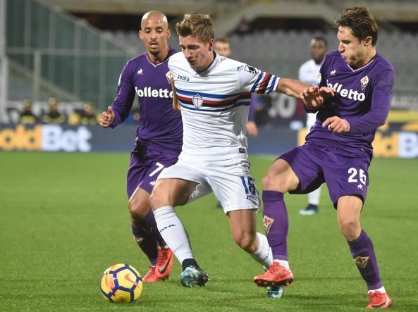 Fiorentina, avanti di (doppio) rigore