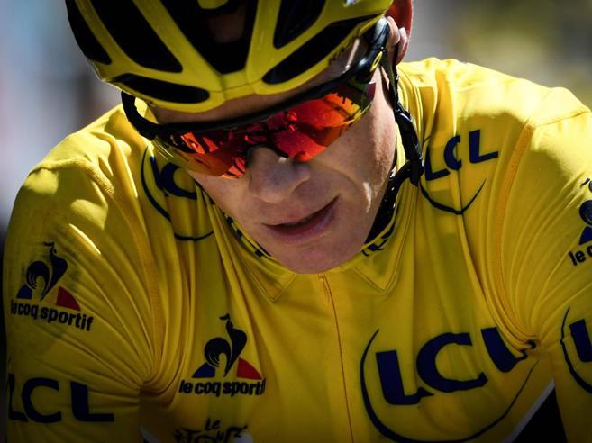 Ciclismo e doping, Chris Froome positivoRischia tutto per un  farmaco per bambini