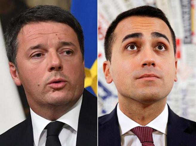 Pensioni d'oro,  Renzi replica a Di Maio«Insensato tagliare quelle da 2.300 euro»