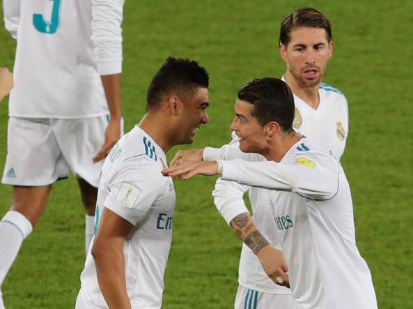 Il Real Madrid sul tetto del mondo