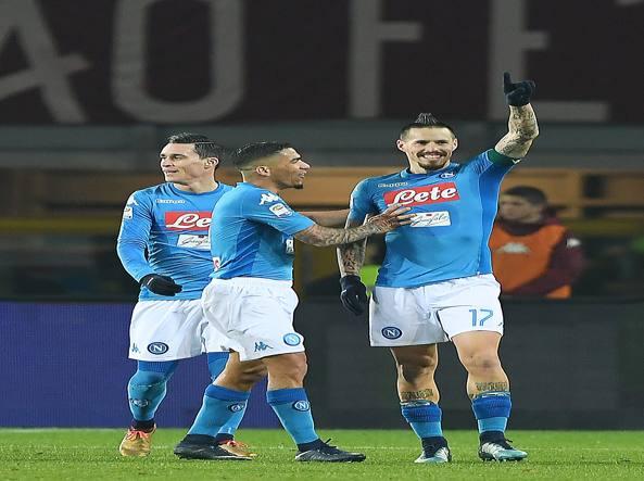 Classifica Serie A: il Napoli torna in vetta, primo ko per l'Inter