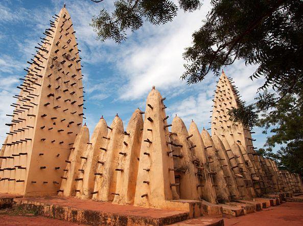 La Grande Moschea di Bobo-Dioulasso, Burkina Faso