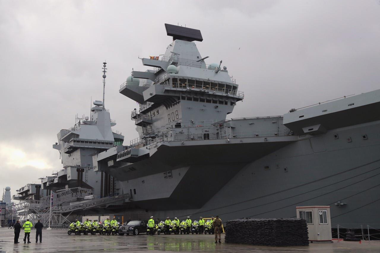 Gran bretagna la nuova portaerei queen elizabeth gi - Nuova portaerei ...