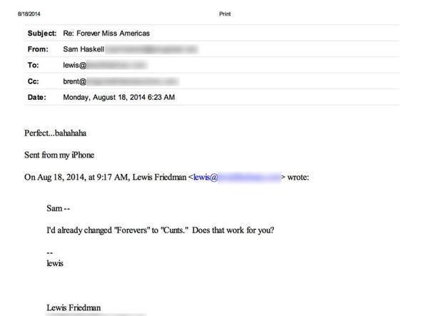 Mail sessiste, la rivolta delle Miss America. I vertici costretti a dimettersi