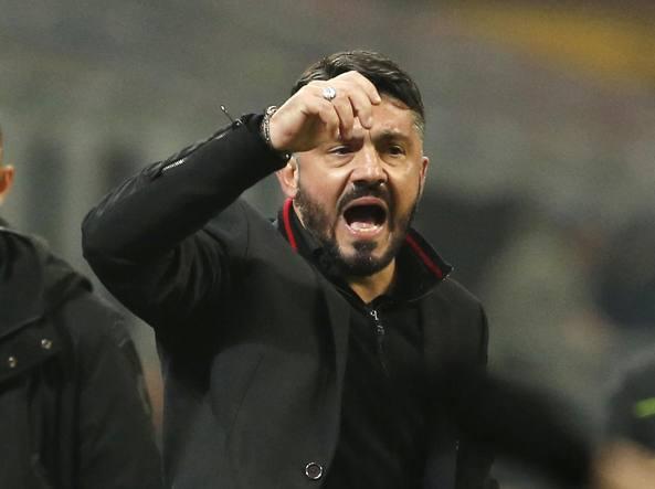 Milan in ritiro, Gattuso: