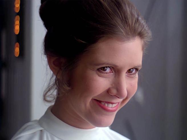 Un anno fa la morte di Carrie Fisher, la vera «ultima Jedi»