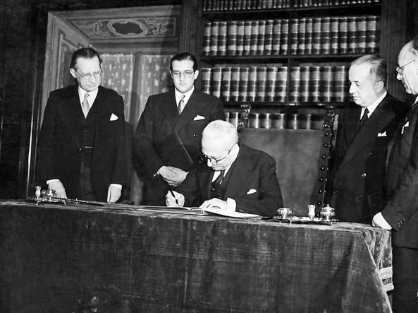 La Costituzione compie 70 anni, venne promulgata il 27 dicembre 1947