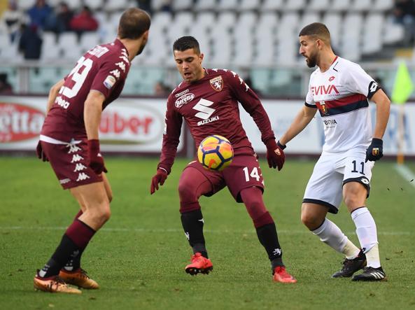 Torino-Genoa, probabili formazioni: chance per Niang