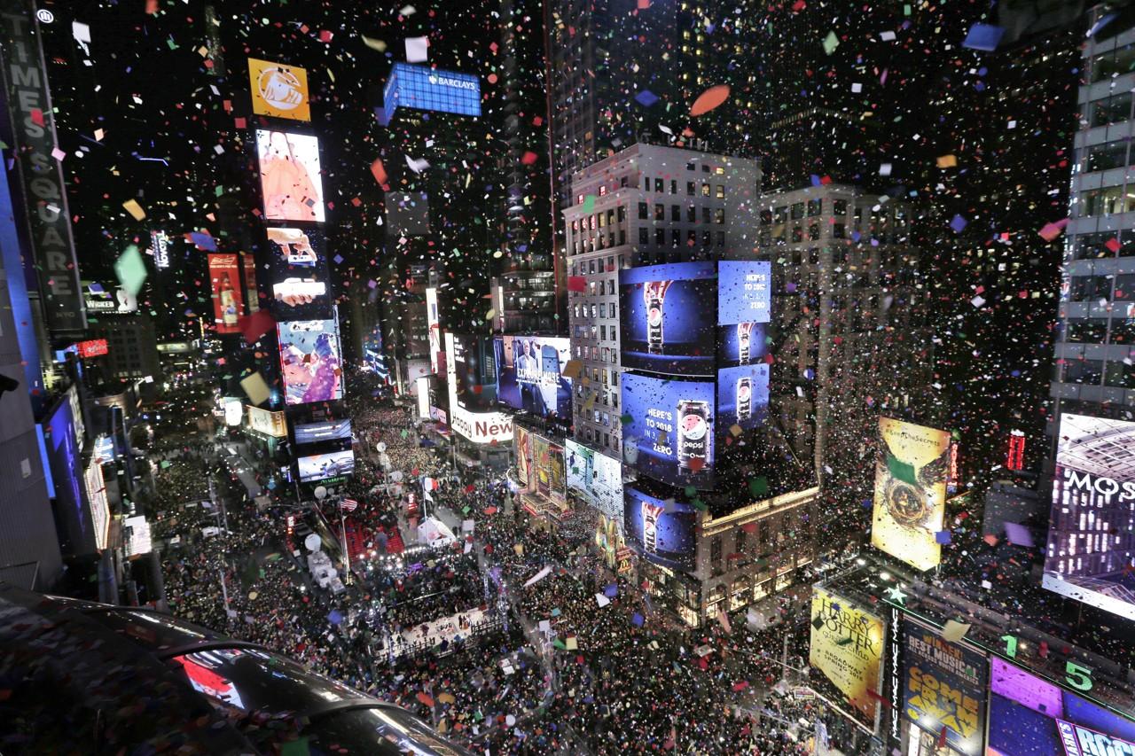 Capodanno 2018 la festa nel mondo for Capodanno 2018 a new york