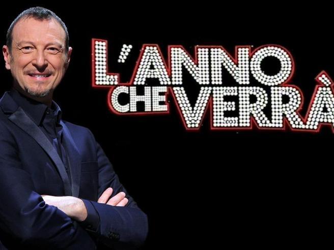 Lo show di Amadeus su Rai1 vince e doppia la serata rivale di Canale 5