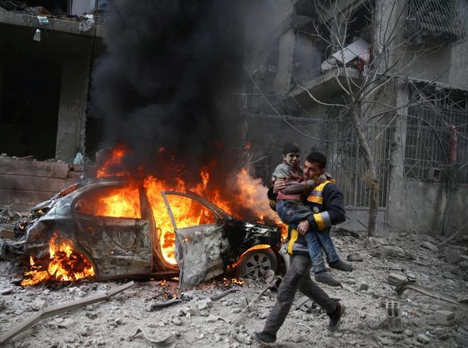 Siria, la guerra che non è finitaSono migliaia i civili in fuga