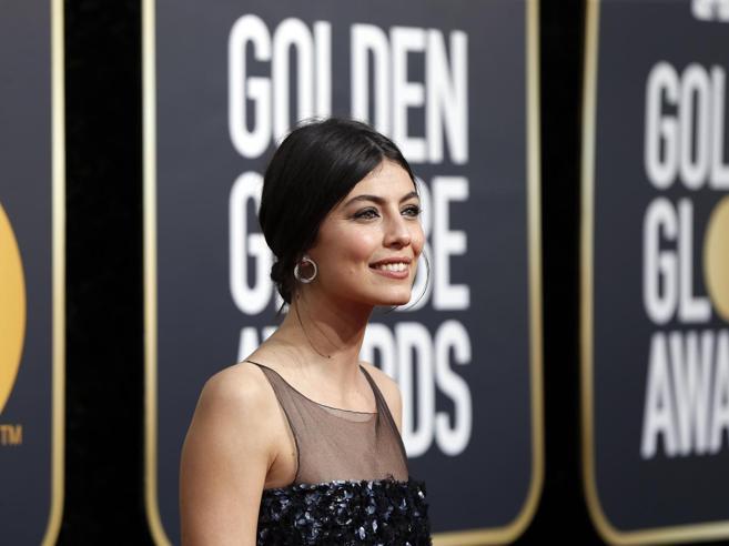 Alessandra Mastronardi, la sua prima volta sul red carpet dei Golden Globe