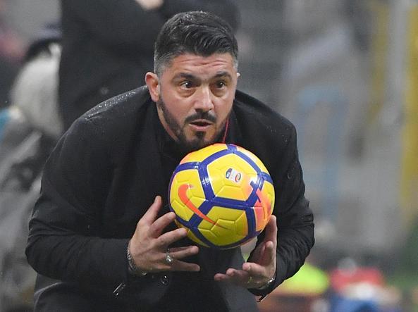 Milan, Gattuso indica la via: