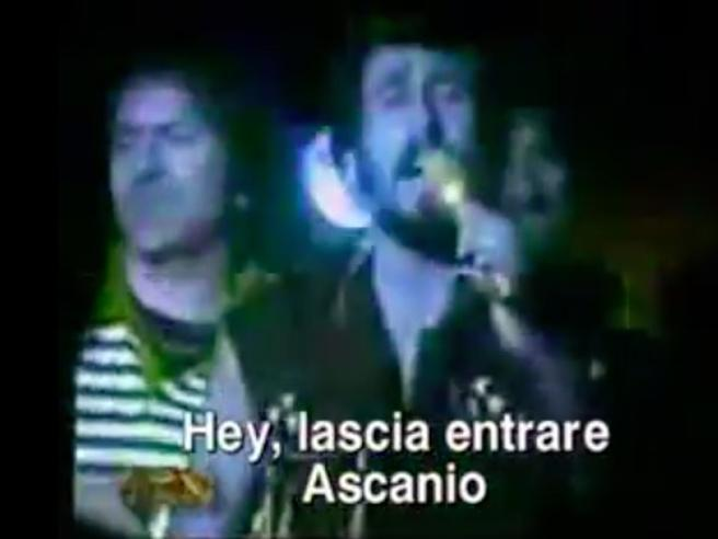 8 gennaio, lascia entrare Ascanio