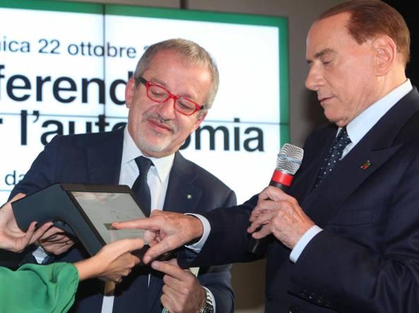 Berlusconi su Maroni:
