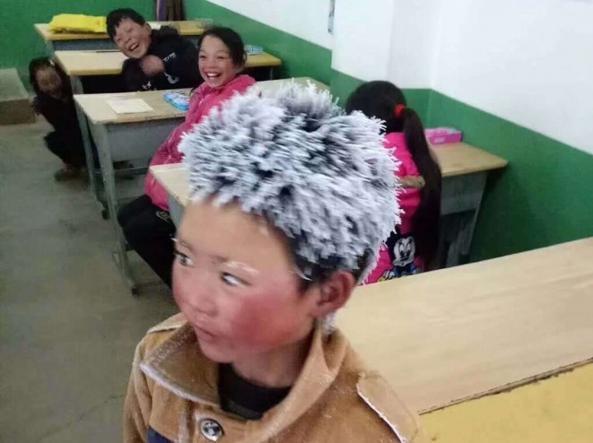 Il bambino cinese chiamato Fiocco di neve