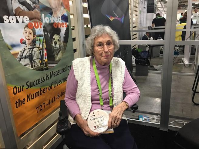 Ces 2018, startupper a 83 anni: Carol e il suo sensore per salvare i bimbi dimenticati in auto