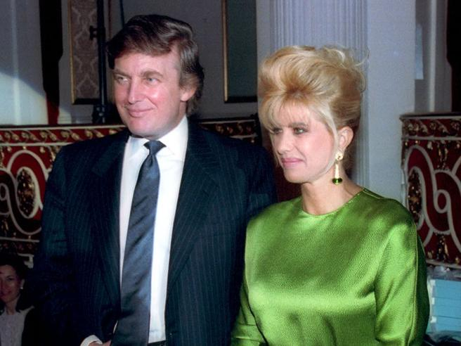 L'ex moglie Ivana difende Trump: «Un genio, e non è razzista»|foto