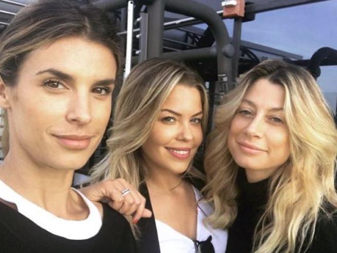 Tre ex Veline a Los Angeles: sono Maddalena Corvaglia, Elisabetta Canalis e Costanza Caracciolo