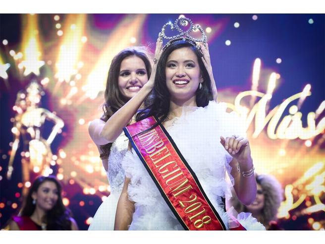 Miss Belgio ha origini filippine Insulti in rete Foto |Video