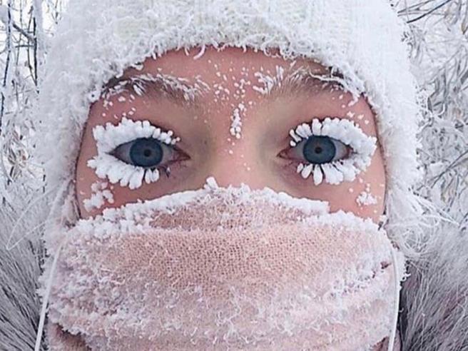 Siberia: il villaggio più freddo del mondo, dove il termometro tocca i 62 gradi sotto zero