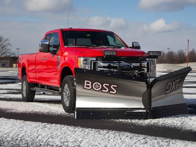 Ford: il pick-up si trasforma in spazzaneve