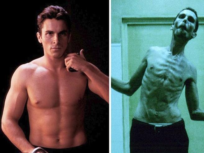 Ecco come gli attori si trasformano per il set: diete severe e super-allenamenti