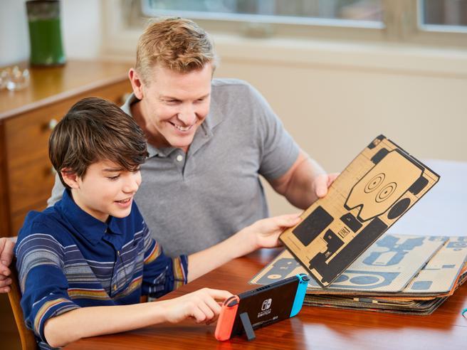 Nintendo Labo, i giocattoli di cartone incontrano la Switch: è subito amore