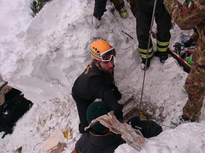 Fabio, primo a prestare soccorso a Rigopiano: «Ci penso sempre»