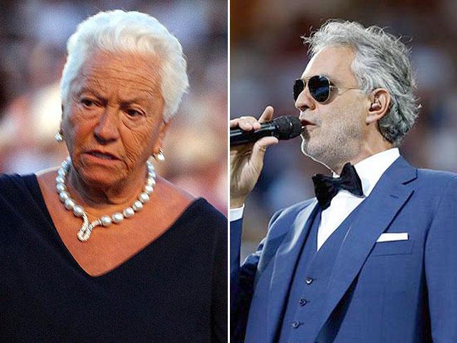 La madre di Andrea Bocelli: «Mi dissero abortisci, tuo figlio sarà cieco»