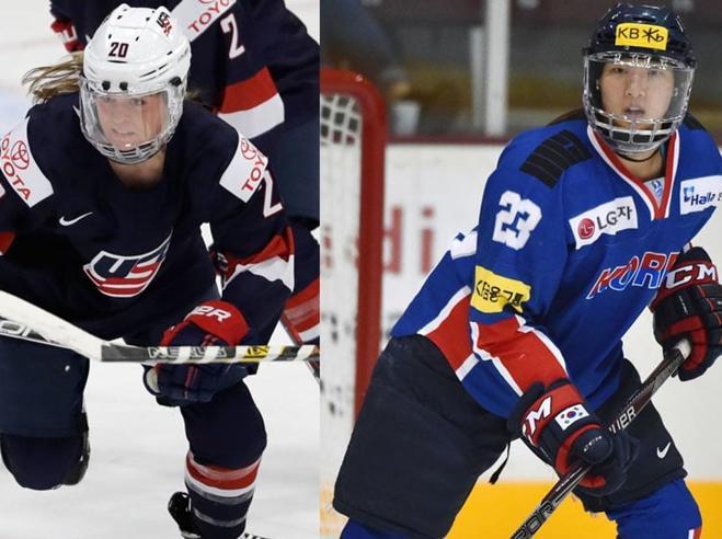 Olimpiadi, le due sorelle dell'hockey Una è coreana, l'altra americana