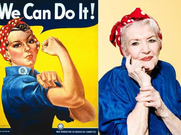 Naomi Parker Fraley  We Can Do It!
