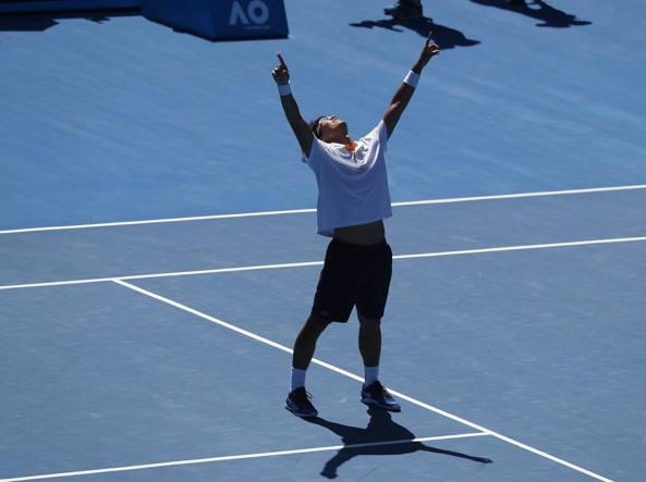 Grinta Federer, è semifinale