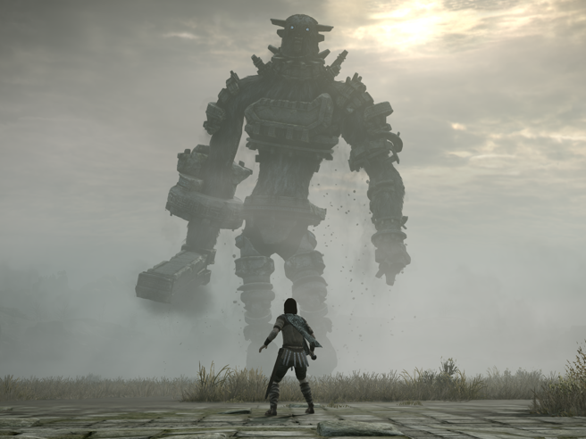 Shadow of the Colossus su Playstation Fumito Ueda sfida lo scorrere del tempo