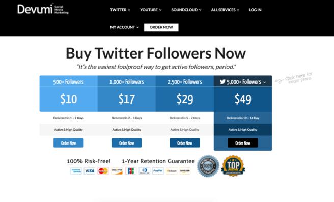 Indagine su Devumi, l'azienda che vende follower falsi sui social