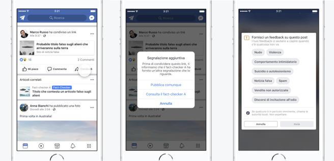 Facebook segnalerà le fake news durante la campagna elettorale