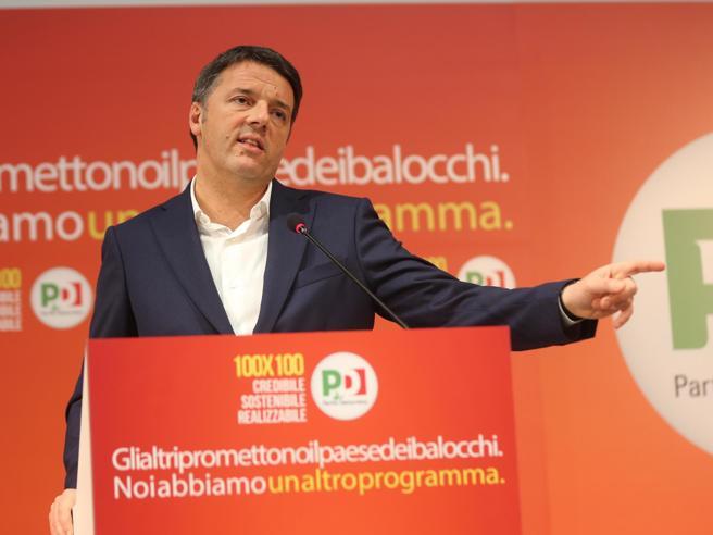 Renzi: «Crescita oltre il 2% Il reddito di cittadinanza? È incentivo a farsi licenziare»
