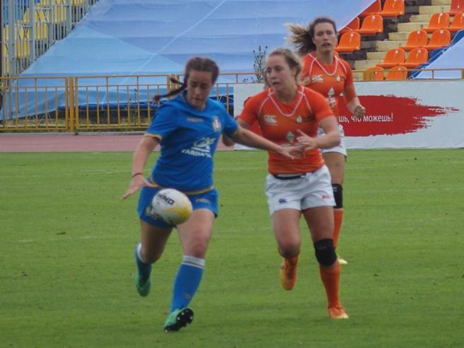 Bianca, dal liceo Beccaria al collegeOra sfida la nazionale inglese a rugby