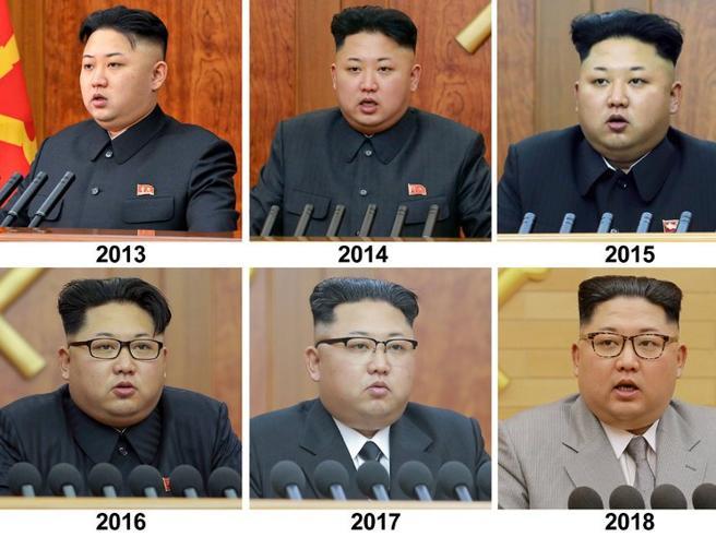 Corea del Nord, Kim campione dello sport (solo per propaganda): ecco come è cambiato in 5 anni